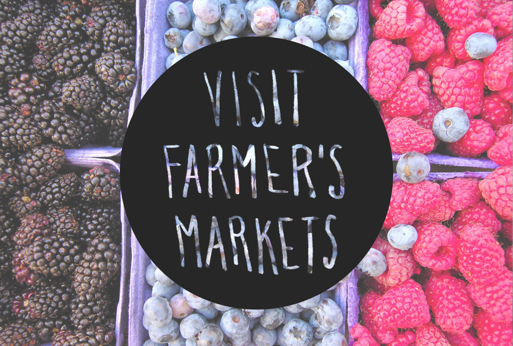 Eco Tip Tuesday #12: Visit Farmers Markets