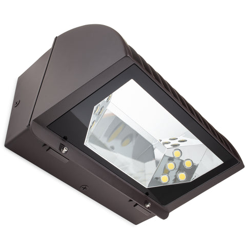 800W Equal - Adjustable Optic LED Wall Pack - BFL-800 - 25K Lumens