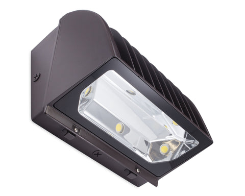 Emergency Battery Backup Wall Pack Light Fixture - LED Wall Sconce - AL-EMER Series UL 924