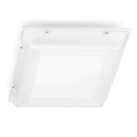 LED Parking Garage Canopy Light 42W 5040 Lumens Ceiling Mount PGS-5L-50K-UV-WHT-DM
