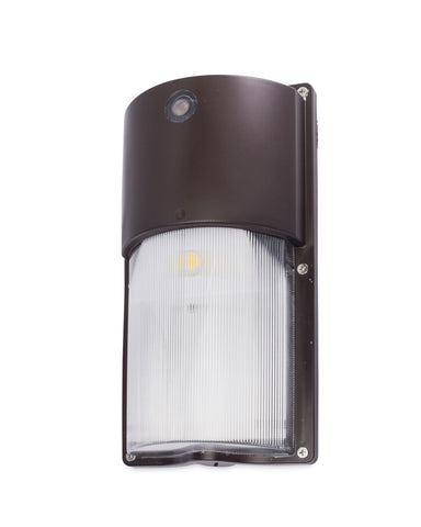 50W Equal 15W LED Wall Pack - Round - WPS-50-R - Bronze
