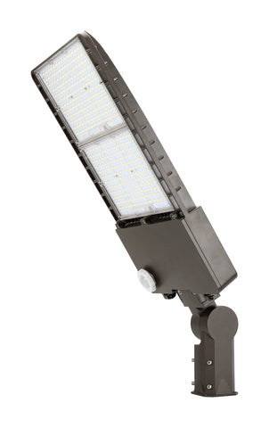 300W High Voltage LED Slim Area Light with Slipfitter