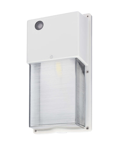 Small LED Wall Pack - White