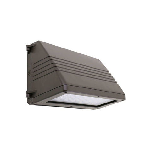 250W Equal Full Cut Off LED Wall Pack - 45W - 5000K - DS45-50K - Value Brand - DLC Qualified