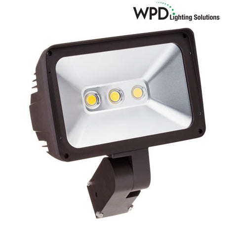 "100W LED Flood Light - FL100 - with Adjustable 3"" O.D. Slipfitter Mount"