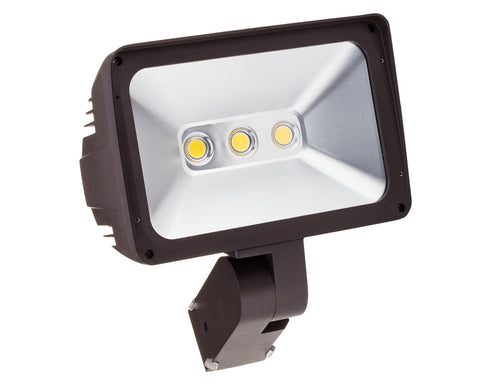 "LED Flood Light - 100W - JVFL100 - with Adjustable 3"" O.D. Slipfitter Mount"