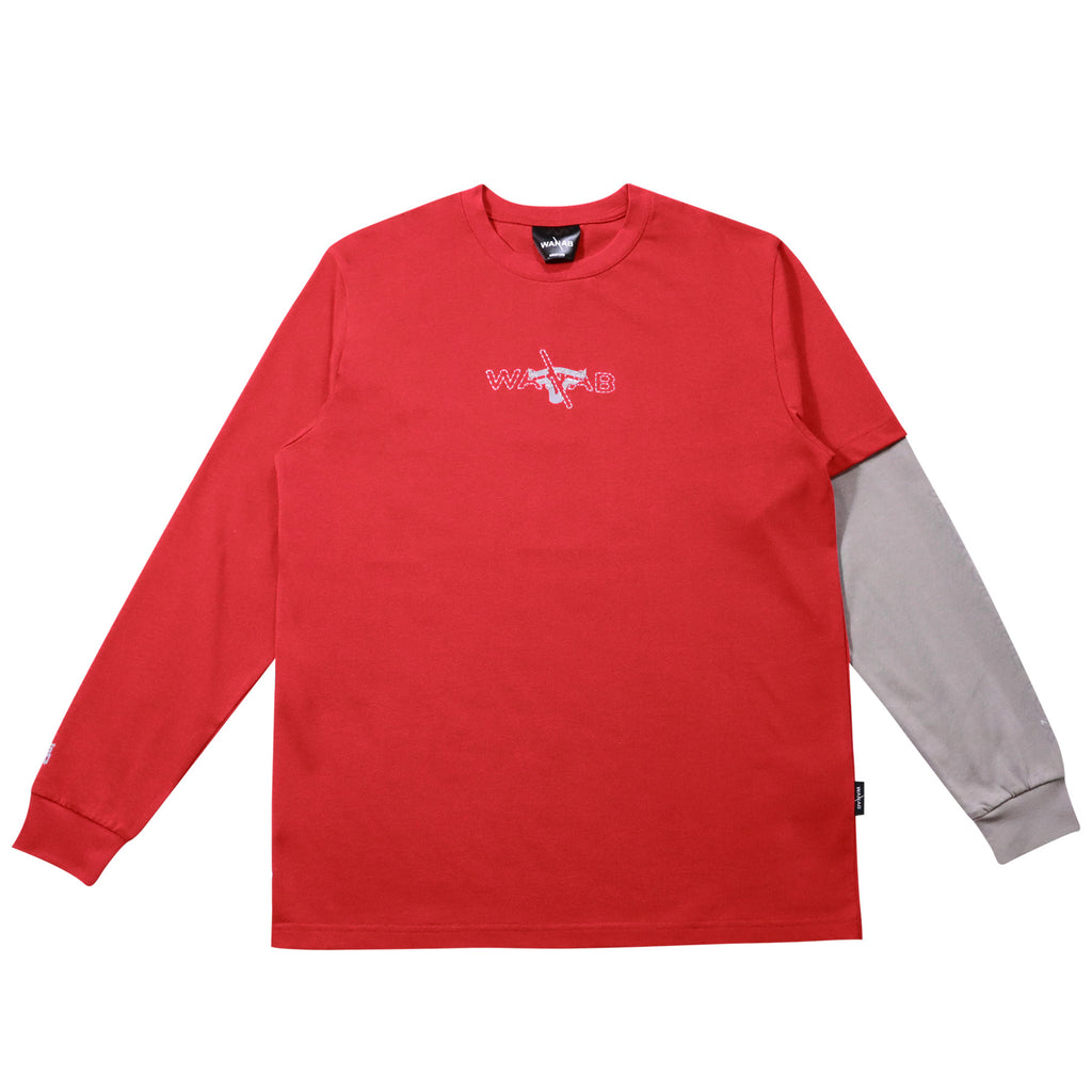 WANAB Year Of The OX LS KIDS Tee - Red