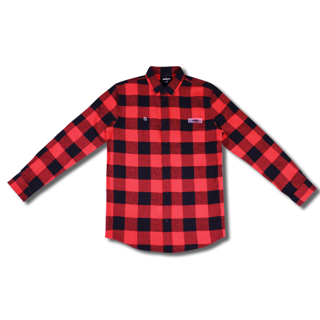 WANAB Checkered Shirt - Red