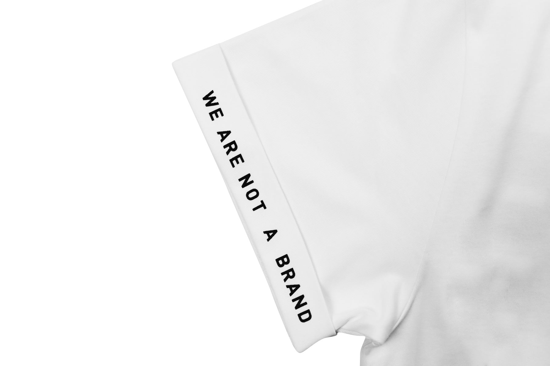 WANAB WE ARE ONE Reflective Motif Tee - White