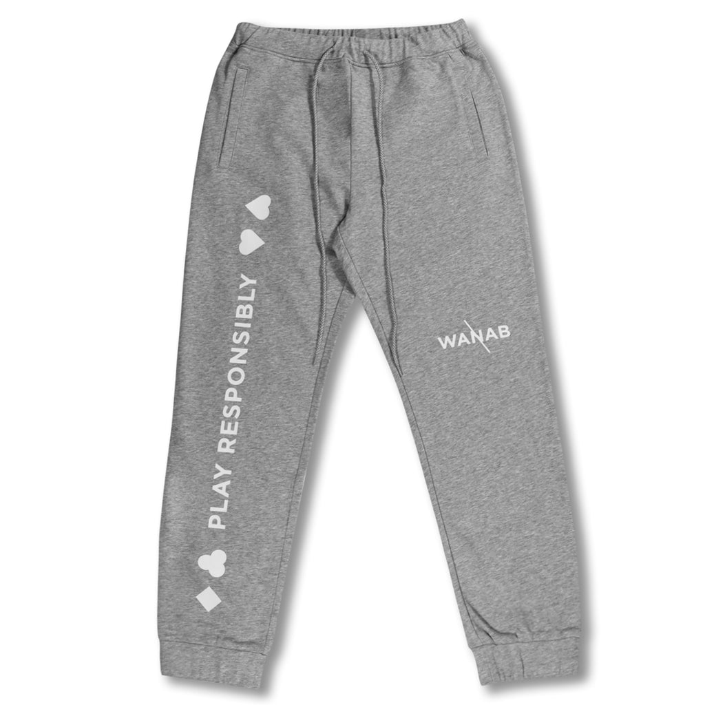 WANAB Poker Track Pants - Grey