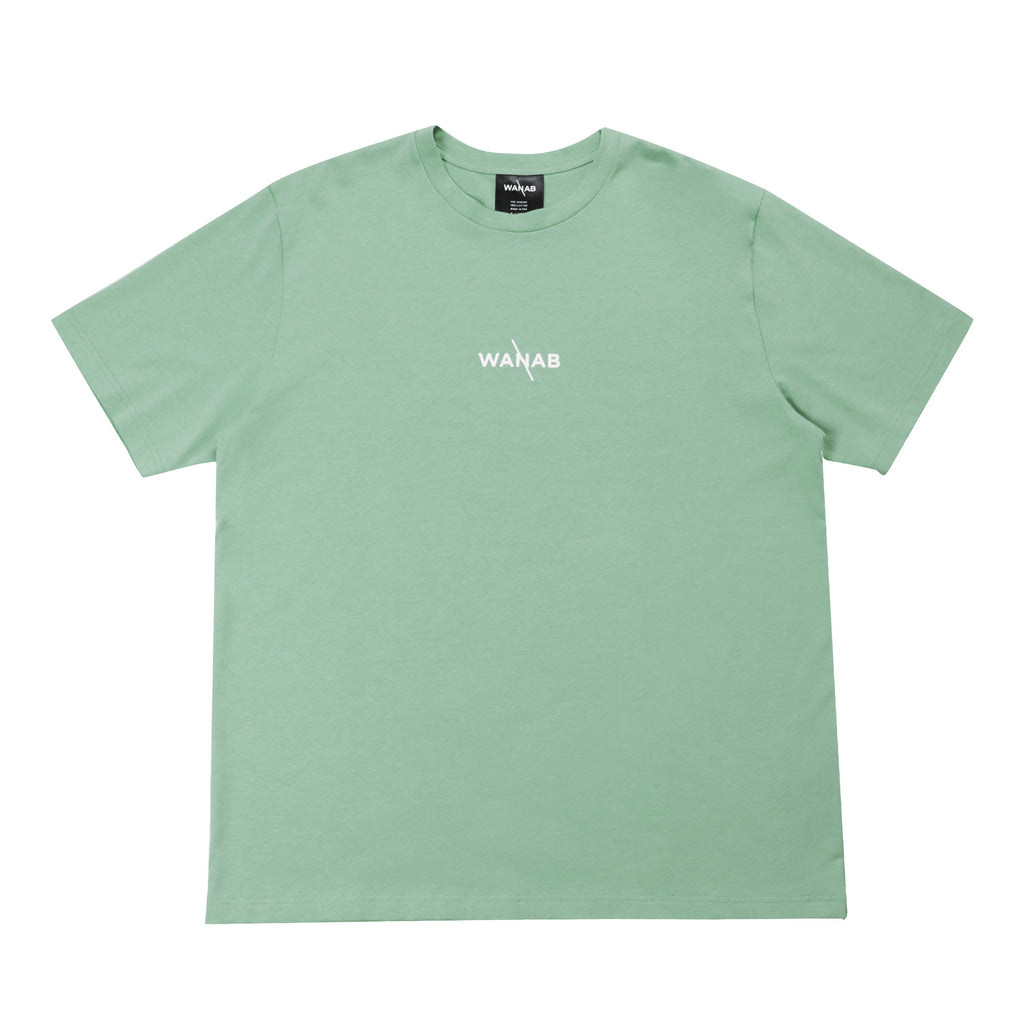 WANAB Reflective Splash Tee - Baby Green