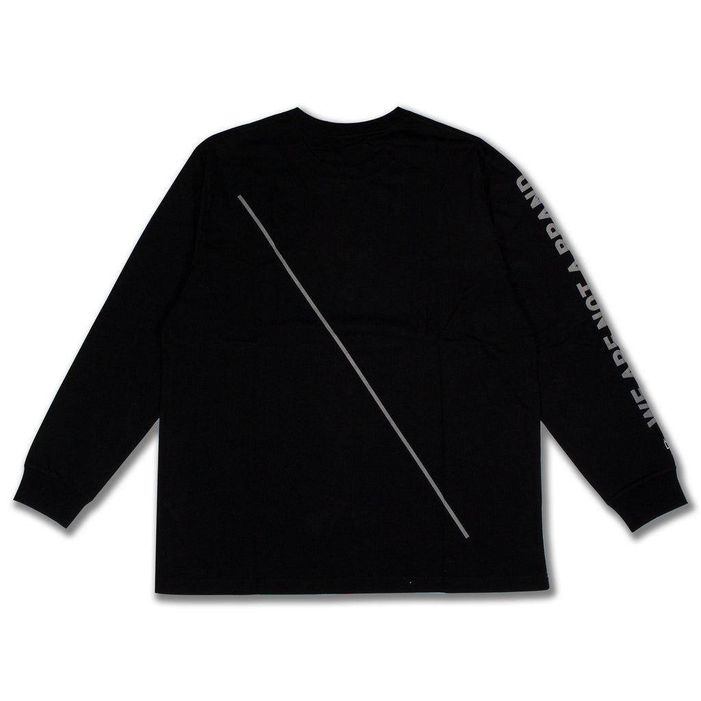 WANAB Slash LS Tee - Black
