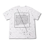 WANAB Reflective Splash Tee - White