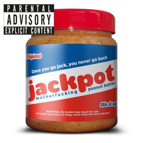 #1 Jackpot motherfucking peanut butter 500g