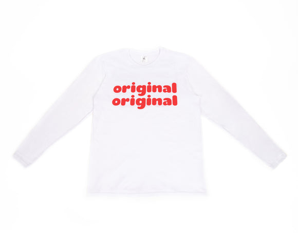 original original long sleeved T-shirt