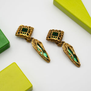 Unsigned Vintage Earrings - Rianna In Berlin