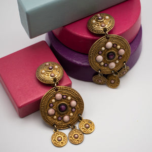 Jacky De G Vintage Earrings - Rianna In Berlin