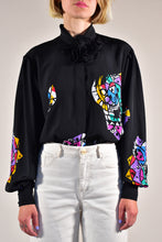 Load image into Gallery viewer, Luis Feraud Bow Shirt - Rianna In Berlin