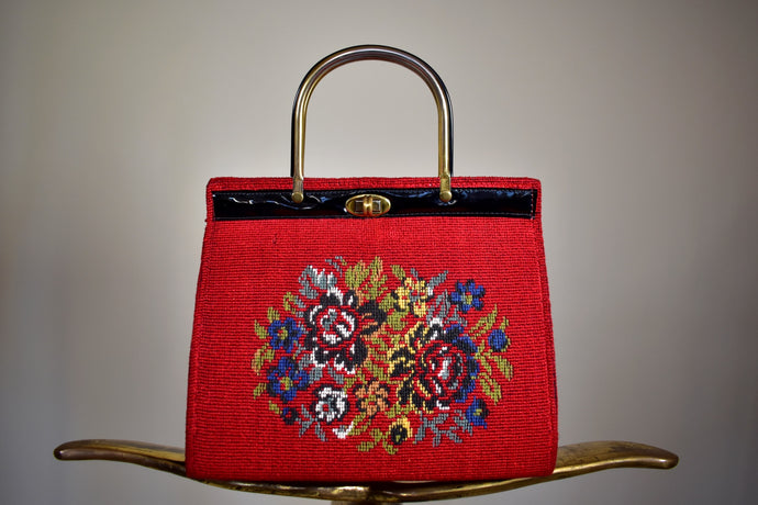 Vintage Unsigned Knitwear Handbag - Rianna In Berlin