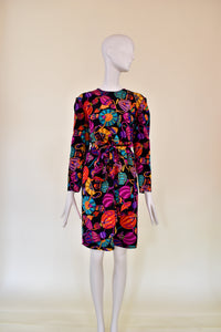 Vintage Louis Feraud Midi Dress - Rianna In Berlin