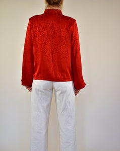 YSL Vintage Jacquard Blouse - Rianna In Berlin