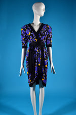 Vintage Yves Saint Laurent Wrap Dress