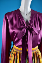 Load image into Gallery viewer, Yves Saint Laurent Silk Bow Blouse - Rianna In Berlin