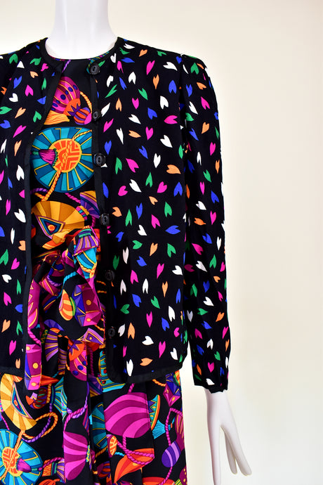 Vintage Yves Saint Laurent Jacket Love Collection - Rianna In Berlin