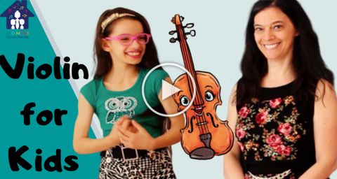 Teaching violin to beginners. Momisi Music House YouTube Channel