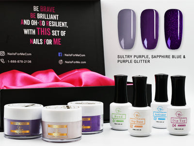 Premium Nail Dip Powder Starter Kit 3 Colors