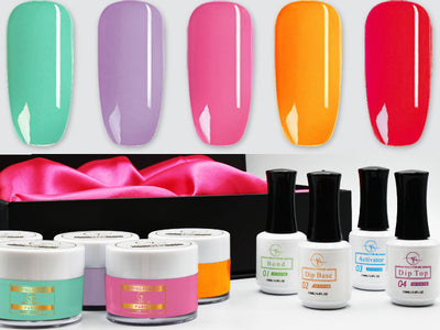 Rainbow Nail Dip Powder Kit
