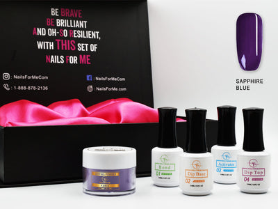 Premium Nail Dip Powder Starter Kit 1 Color