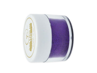 Purple Nail Dip Powder Glitter