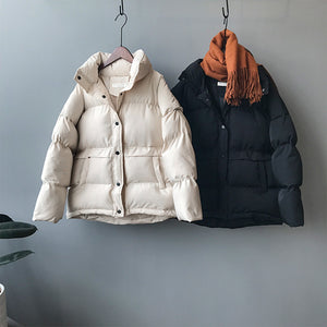 Down Solid Jacket