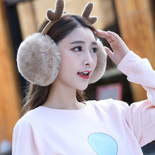 Load image into Gallery viewer, Reindeer Earmuffs