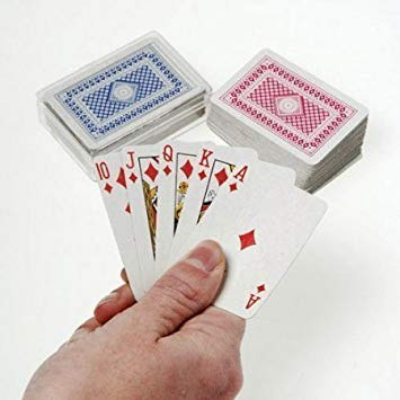 1 Miniature Playing Card