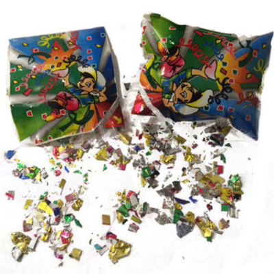6 Confetti Party Bursters