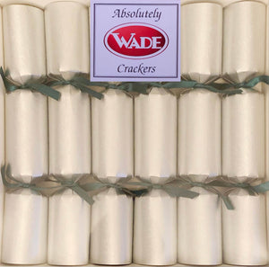 6 Absolutely Crackers Wade Farmyard Crackers - Silver