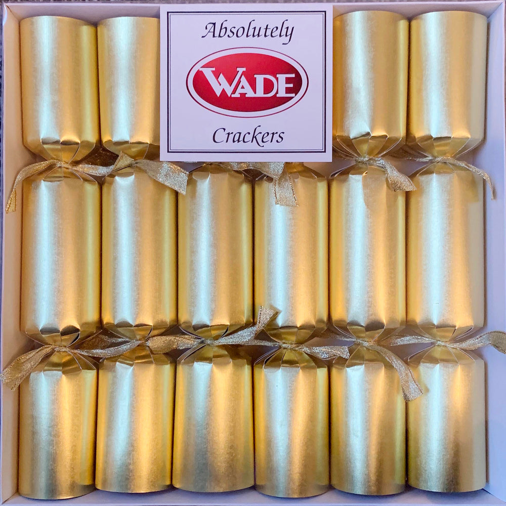 6 Absolutely Crackers Wade Dinosaur Crackers - Gold