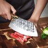 "Sensei Dragon® 7.8"" Handmade Chef's Knife Chopping Cleaver"
