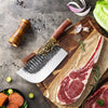 "Sensei Dragon® 8.5"" Meat Cleaver Kitchen Knife with Dragon Style Bolster"