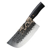 "Sensei Dragon® Hand Forged 8"" Cleaver Kitchen Knife Pro"