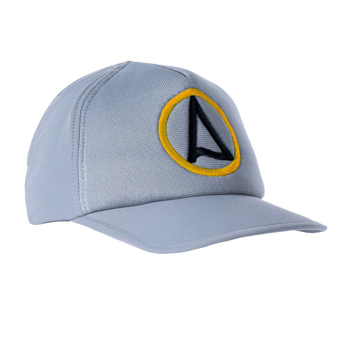 Kaiola Surf Hat - Misty Grey with Yellow
