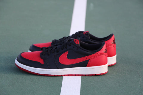 8830f99426f Air Jordan I 1 Low Bred 705329 001 Freddy P