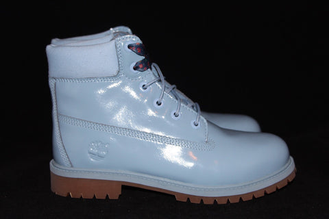 Light Blue Timberland 6 Inch Boot GS