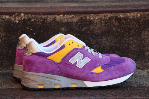 New Balance 580 Purple/Yellow