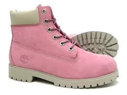 Pink Timberland 6 Inch Boot GS