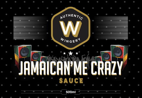 Jamaican'Me Crazy Sauce 500ml
