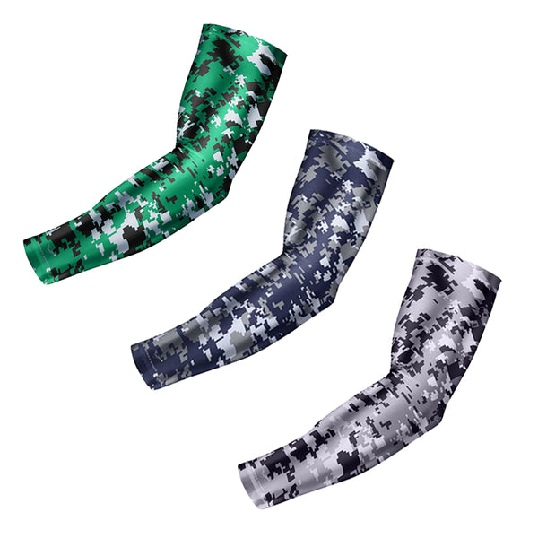 1 Pair Ciclismo Cycling Camouflage Arm sleeves