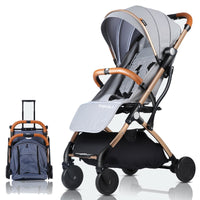 Baby Stroller Plane Lightweight Portable Travelling Pram Children Pushchair 4 FREE GIFTS,3USD COUPONS